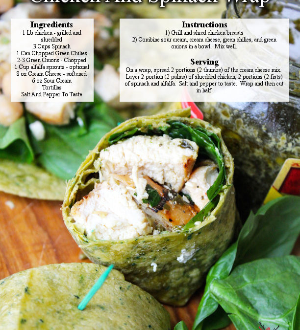 Chicken And Spinach Wraps
